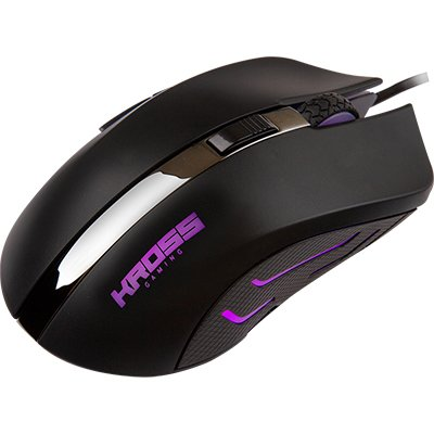 Mouse Gamer usb 2400 Dpi Firestorm KE-MG120 Kross Gaming PT 1 UN