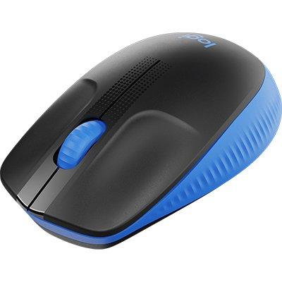Mouse sem fio Full Size M190 azul 910-005903 Logitech CX 1 UN