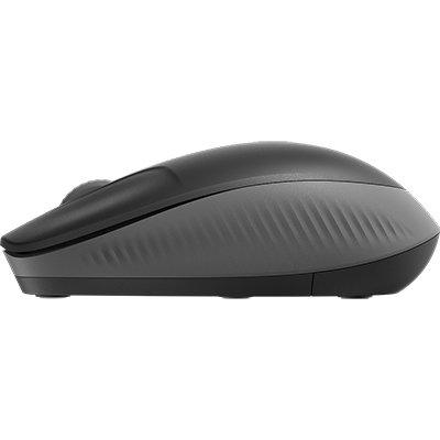 Mouse sem fio Full Size M190 cinza 910-005902 Logitech PT 1 UN