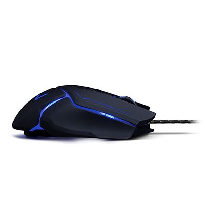 Mouse Gamer usb 3200 Dpi Warrior preto MO261 Warrior CX 1 UN
