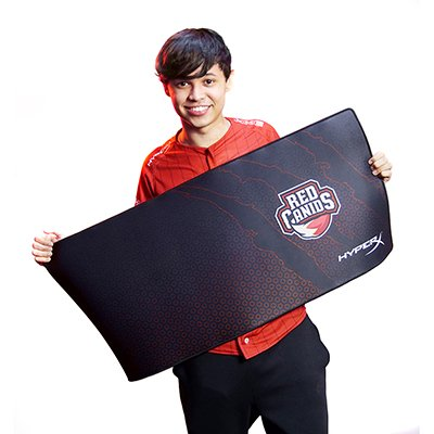Mouse Pad Gamer 42x90cm HyperX Fury S Red Canids HC-MP2XL HyperX CX 1 UN