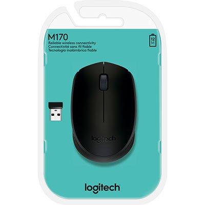 Mouse sem fio preto M170 Logitech CX 1 UN