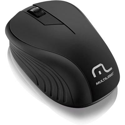 Mouse sem fio usb preto MO212 Multilaser CX 1 UN
