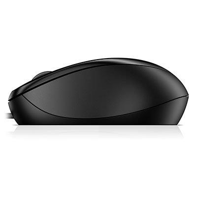 Mouse óptico usb preto 1000 4QM14AA HP CX 1 UN