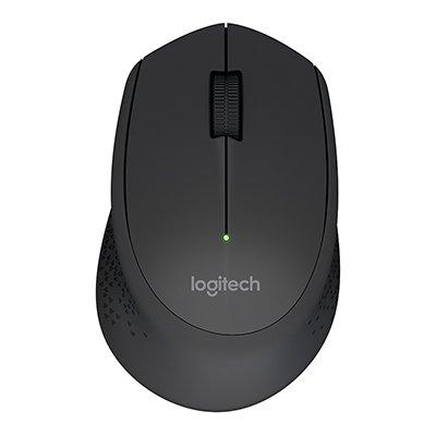 Mouse sem fio Logitech M280 com Conexão USB e Pilha Inclusa - Preto CX 1 UN