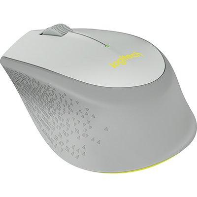 Mouse sem fio Logitech M280 com Conexão USB e Pilha Inclusa - Cinza CX 1 UN