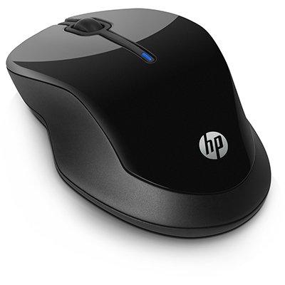 Mouse sem fio preto 250 3FV67AA HP CX 1 UN