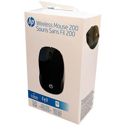 Mouse sem fio Oman preto X200 X6W31AA HP CX 1 UN