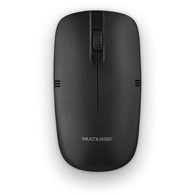 Mouse sem fio usb preto MO285 Multilaser CX 1 UN
