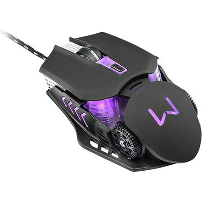 Mouse Gamer usb 3200 Dpi Warrior Keon preto MO267 Warrior CX 1 UN