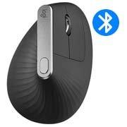 Mouse sem fio Logitech MX Vertical com Design Ergonômico, USB Unifying ou Bluetooth para até 3 dispositivos, Recarregável CX 1 UN