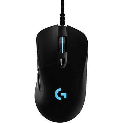 Mouse Gamer RGB Logitech G403 HERO com Tecnologia LIGHTSYNC, 6 Botões Programáveis, Ajuste de Peso e Sensor HERO 16k CX 1 UN