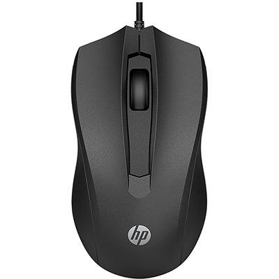 Mouse óptico usb preto 100 6VY96AA HP BT 1 UN