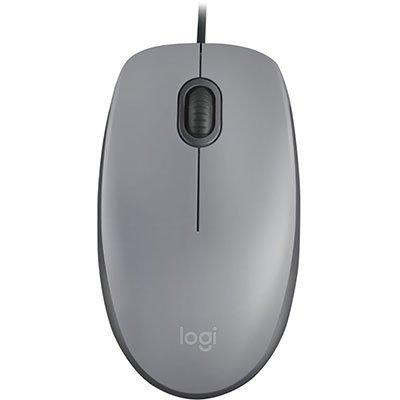 Mouse óptico usb Silent cinza M110 Logitech CX 1 UN