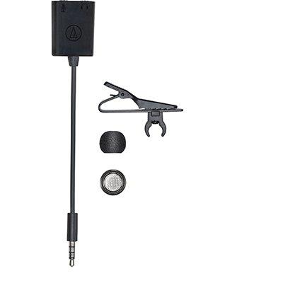 Microfone de Lapela Omnidirecional Condensador, P2 - ATR3350XIS - Audio-Technica CX 1 UN