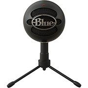 Microfone Condensador USB Blue Snowball Ice Preto CX 1 UN