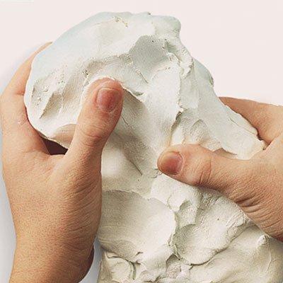 Massa cerâmica fria DAS 500g Licyn PT 1 UN