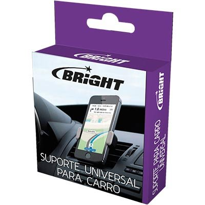 Suporte veicular p/ Smartphone 430 Bright CX 1 UN