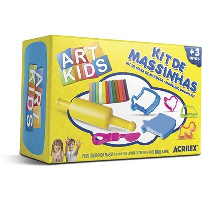 Massinha ArtKids Kit 2 40002 Acrilex CX 1 CJ