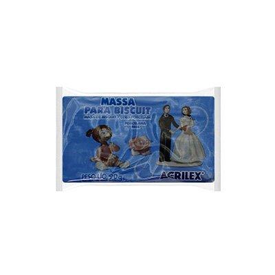 Massa de biscuit ou porcelana fria 90g azul cobalt 07490 Acrilex PT 1 UN