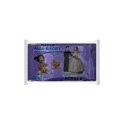 Massa de biscuit ou porcelana fria 90g violeta 07490 Acrilex PT 1 UN
