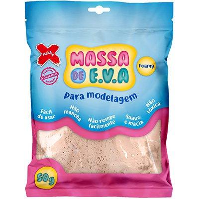 Massinha de EVA bege 13006 Make+ PT 1 UN