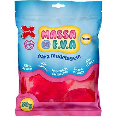 Massinha de EVA vermelho 13014 Make+ PT 1 UN