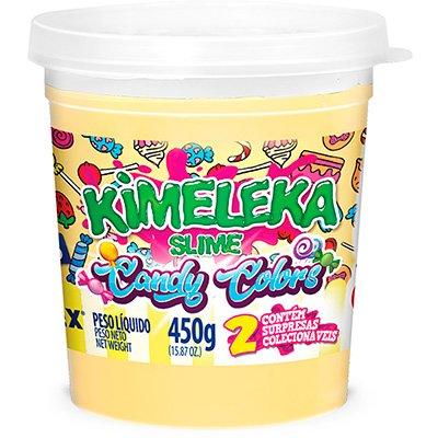 Massinha 450g Kimeleka Candy amarelo bebê 05815 Acrilex PT 1 UN