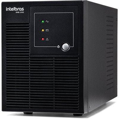 Nobreak Senoidal Intelbras 1500VA bivolt 6 tomadas - SNB1500 CX 1 UN