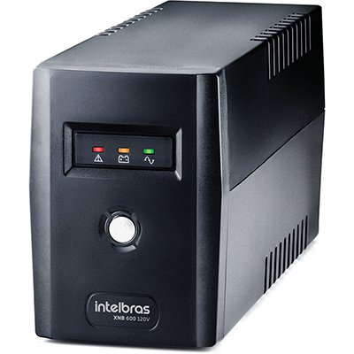 Nobreak XNB 600va 4 tomadas 120v 4822004 Intelbras CX 1 UN