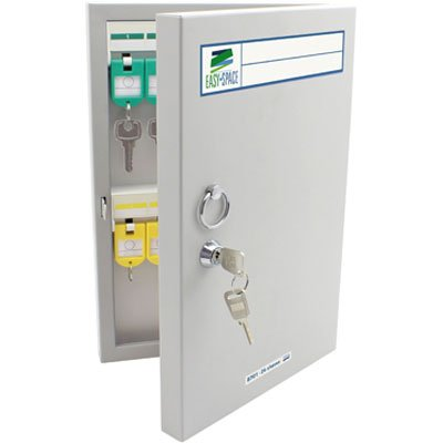 Armário Organizador de chaves em aço p/24 chaves 8701 Easy Space CX 1 UN