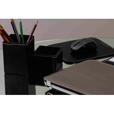 Mouse pad office lâminado sintético preto Apparatos PT 1 UN
