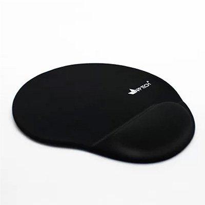 Mouse pad c/ apoio de punho em gel preto App-tech PT 1 UN