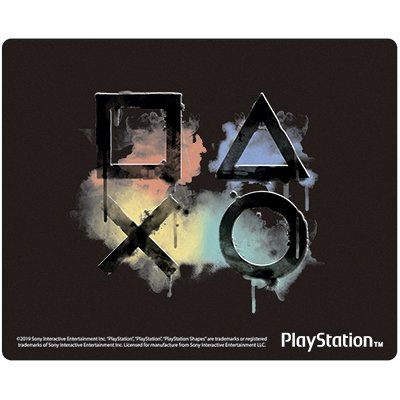 Mouse pad em PVC Playstation MPF-12 Spiral Ps BT 1 UN