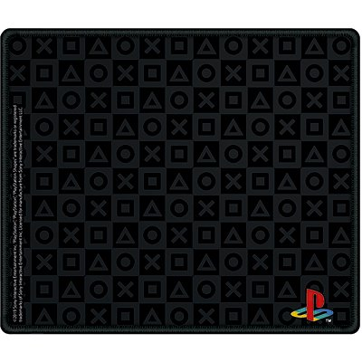 Mouse Pad Gamer 28x24cm Playstation MPG-P28 Spiral Ps CX 1 UN