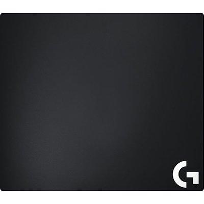 Mouse Pad Grande de Tecido Logitech G640 para Jogos de Baixo DPI CX 1 UN