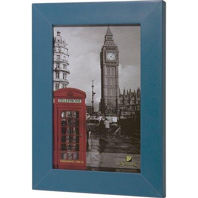 Porta retrato 10x15 liso azul PRL1015 Decorex PT 1 UN