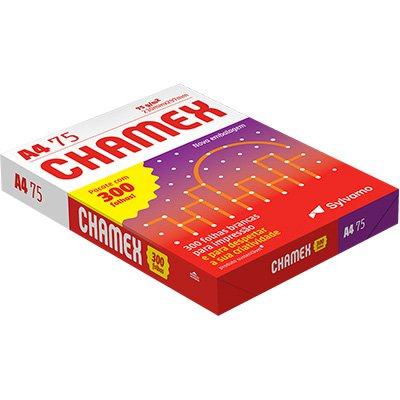 Papel Sulfite 75g Alcalino 210mmx297mm A4 Chamex Office Ipaper PT 300 FL