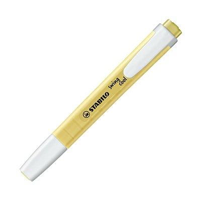 Pincel marca texto amarelo pastel Swing Cool 275/144 Stabilo PT 1 UN