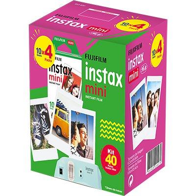 Papel fotográfico Fuji Instax mini pack c/40 Fuji Film PT 1 UN