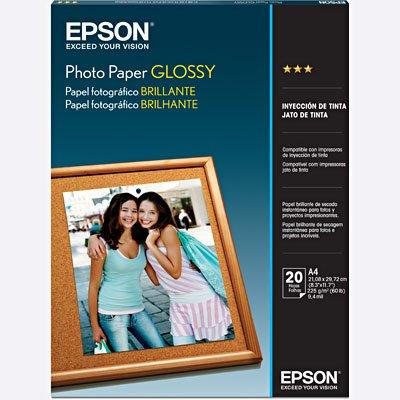 Papel fotográfico A4 200g glossy S041140 Epson PT 20 FL
