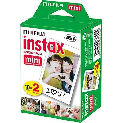 Papel fotográfico Fuji Instax Mini 6,2x4,6cm 705028297 Fuji Film PT 20 UN