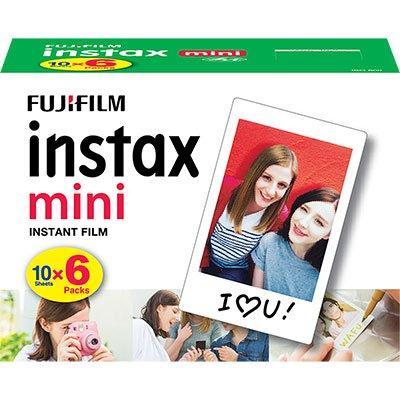 Papel fotográfico Fuji Instax Mini 6,2x4,6cm 705061900 Fuji Film PT 60 UN