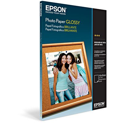 Papel fotográfico 10x15cm 194g glossy brilhante S041809 Epson PT 50 FL