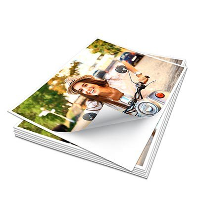 Papel fotográfico A4 215g glossy paper adesivo AG215-20 Spiral PT 20 FL