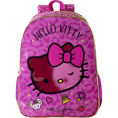 "Mochila poli. 16"" Hello Kitty Glam 8822 Xeryus PT 1 UN"