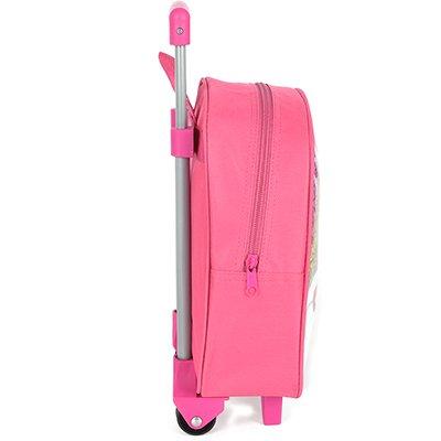 "Mochila poli. c/ rodas 11"" Up4You Barbie IC33832BBKL 0310 Luxcel PT 1 UN"