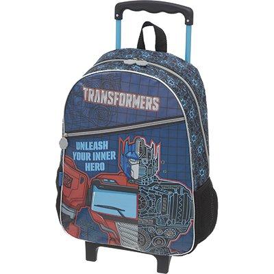 Mochila poli. c/ rodas Transformers Optimus 933Q01 Pacific PT 1 UN