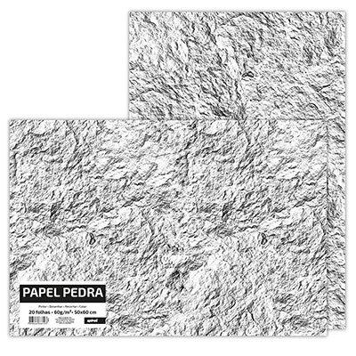 Papel pedra 50x60 60g/m2 Spiral PT 20 UN
