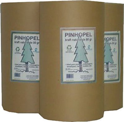 Papel kraft 80g  40cmx150m 3255 On Paper PT 1 BB